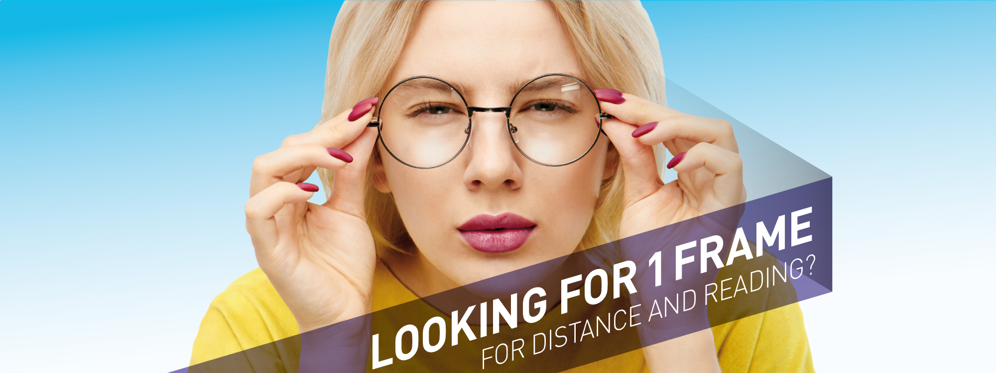 Looking for 1 pair of glasses
